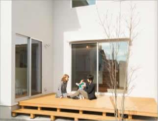 太陽の光や熱、風などの自然エネルギーを 受動的に利用する快適な住まい。