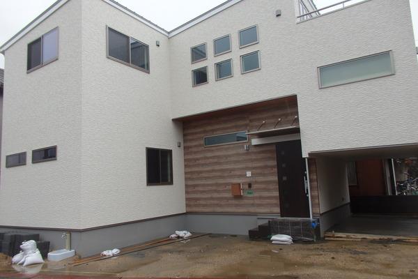A様邸、新築工事完了